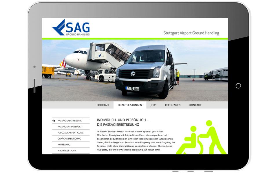 SAG und Flughafen Stuttgart